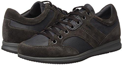 Geox U Avery a, Zapatillas para Hombre, Grau (ANTHRACITEC9004), 42 EU