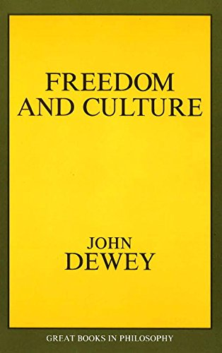 Freedom and Culture (Great Books in Philosophy)