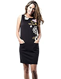 Womens Cyclamen Casual Dress Mamatayoe
