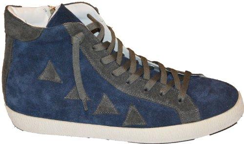 """LUX """"Sneakers Lux Unisex, Avion/grigio, pelle scamosciata, 37 IT"""""""