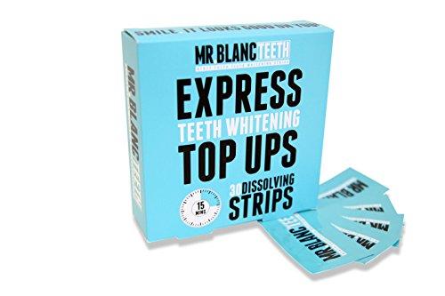Mr Blanc Express Dissolving Whitening Strips 30s lowest price