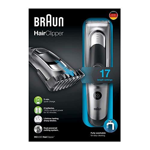 Braun HC5090 Tagliacapelli, Rasoio Barba Elettrico,...
