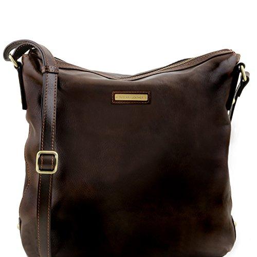 Tuscany Leather Alice - Borsa donna shopper in pelle - TL141480 (Nero) Testa di Moro