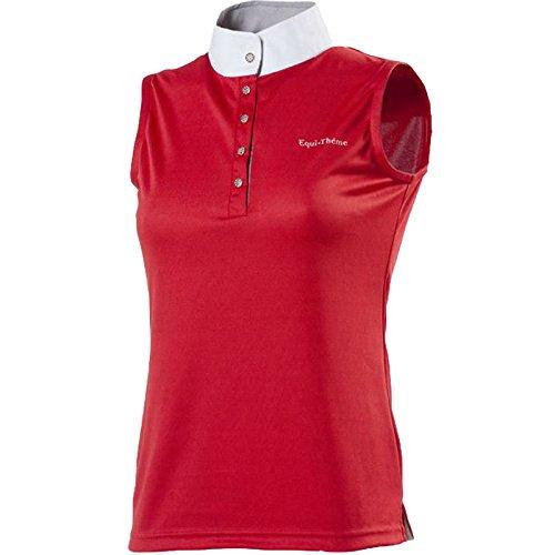 EQUI Thema-Horse Rider Polo Equestrian Shirts in allen Farben und Größen Rot
