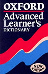 ADVANCED LEARNER'S DICTIONARY,Souple