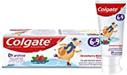 Colgate Kids Toothpaste Natural Strawberry Mint Flavour, 6-9 Years, 60 ml