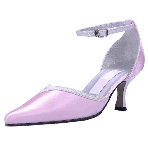 Kevin Fashion , Chaussure de mariée fashion femme Rose