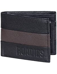 ROADIES by JUSTANNED Black Men's Wallet (RJMW-029-1)