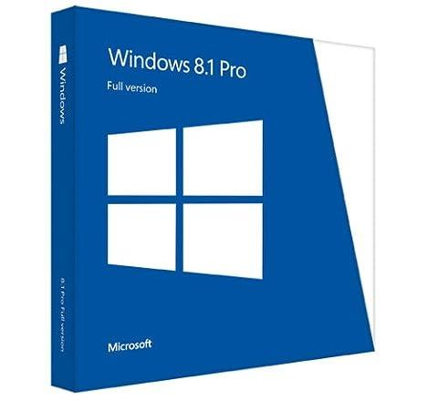 MS Win Pro 8.1 32-bit/64-bit Intl DVD (EN)