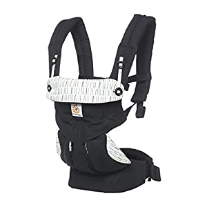 Ergobaby Baby Carrier up to 3 Years (12-45 lbs) 360 Downtown Design, 4 Ergonomic Carry Positions, Front Facing Baby Carrier, Child Carrier Backpack   10