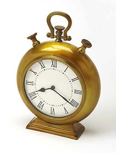 Butler specality company Butler 6210365Kenilworth Messing Antik Finish Schreibtisch Uhr