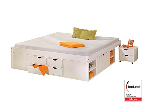 Till Small Double Storage Bed ...  sc 1 st  Search Furniture & Till Small Double Storage Bed Frame II u2013 Search Furniture