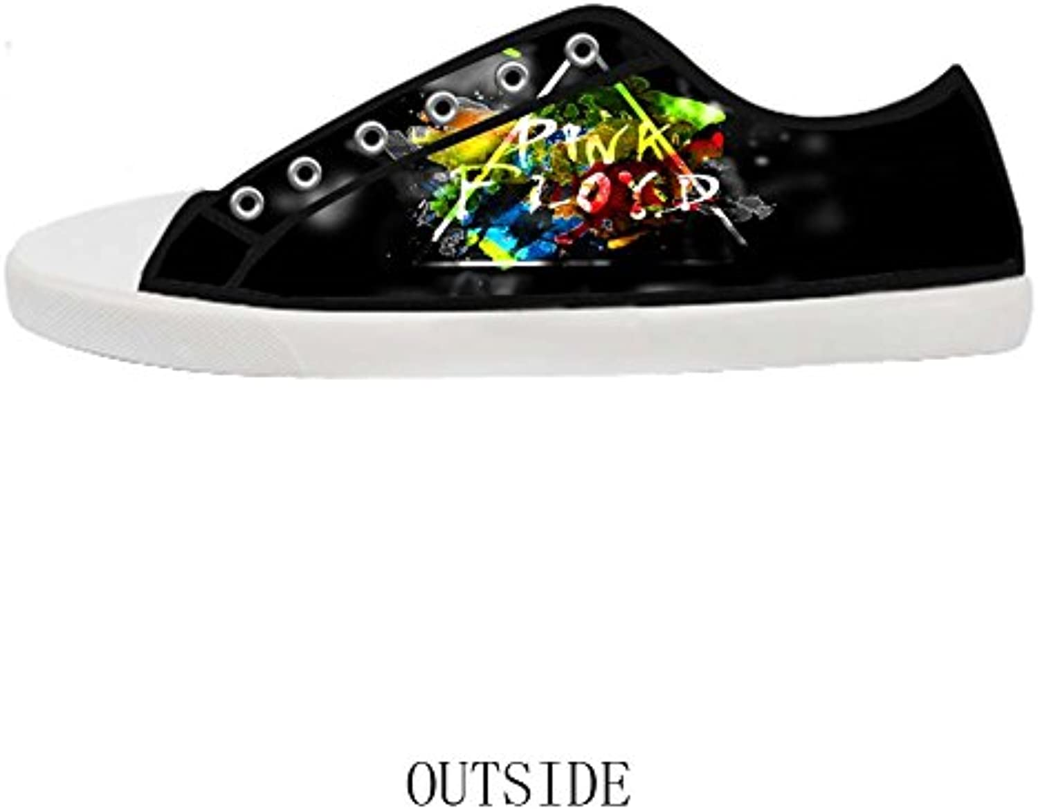 Fashion Casual Canvas Shoes Rock Band Pink Pink Pink Floyd Canvas Shoes for Men 8ba9ab