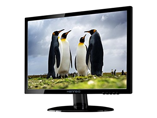 HannsG HE195ANB 18.5-Inch Widescreen LED Monitor (1366 x 768, WXGA, VGA, 5ms, 100 x 100 VESA) UK