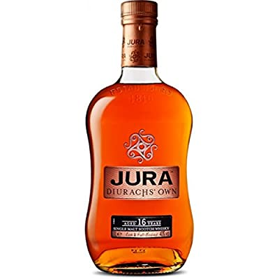 The Isle of Jura 16 Year Old Single Malt Scotch Whisky 70cl Bottle