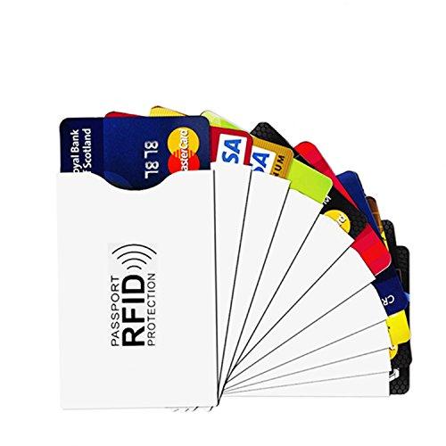 UWILD Credit Card Holder , Weiß-(10)Kreditkartenhalter (white) - UD-OEMRFID001