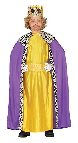 Guirma Magisches Kind Baldassarre lebende Krippe des gelben Königs des - Krippe König Kostüm