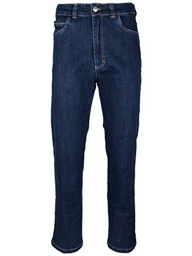 SOUNON Herren Jeans, Jeanshose, Stretch - Blau, Groesse: 54 (Cordhose Denim)
