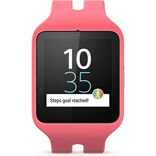 Sony Mobile Smartwatch 3 Activity Tracker con Lifelog – rosa