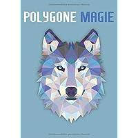 Polygone Magie: Das etwas andere Malbuch mit 50 tollen polygonen Tieren für Kinder ab 10+ Jahren zum Ausmalen und als…