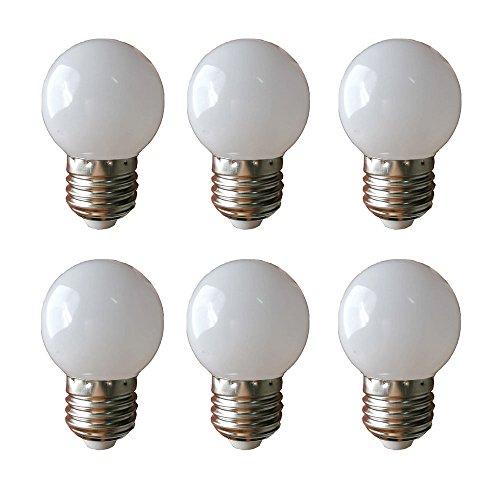 LED G45 1W E27 Warmweiß 3000K 230V Dekorative Leuchtmittel (1)
