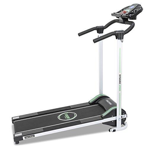 RunFit Step. 1000 W Laufband mit LED-Bildschirm. 12 voreingestellte Trainingsprogramme. 10 km/h. Ausgestattet mit Lautsprechern. Magnet Sicherheitssystem.