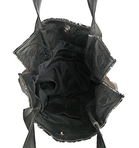 ffb30c2d81a9b Zerimar LederUmhängetasche für Damen Große Umhängetasche aus weichem Leder  für Frau Schultertasche mit großer Kapazität Weiche Leder tasche für damen  aus ...