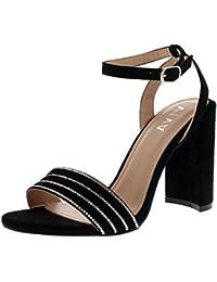 Zapatos negros Highdas para mujer rsehbfSIlc