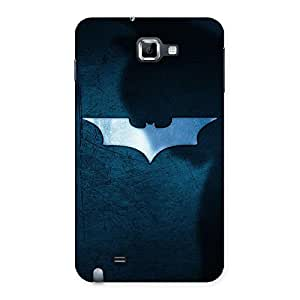 Cute Premier Blue Knight Multicolor Back Case Cover for Galaxy Note