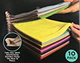 Closet Organizer and Shirt Folder | Regular Size, 10-Pack