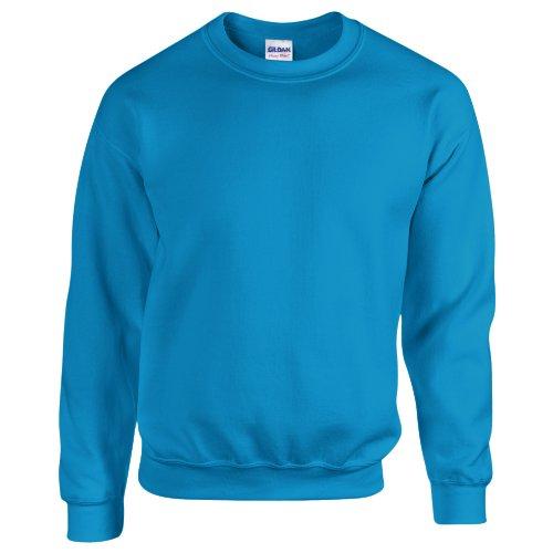 Gildan Heavy Blend Unisex Sweatshirt mit Rundhalsausschnitt (S) (Antik Saphir)