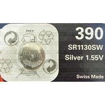 One (1) X Renata 390 SR1130SW SB-AU óxido de plata pila de botón para reloj 1,55 V