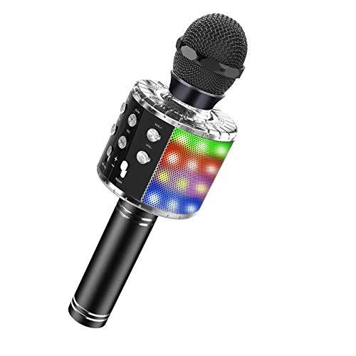 Dreamingbox Spielzeug für Jungen 4-12 Jahre, Drahtloses Bluetooth Mikrofon für Kinder Spielzeug Mädchen 4-12 Jahre Halloween Weihnachten Geschenk für Jungen 5-12 Jahre Geschenke Mädchen 4-12 Jahre