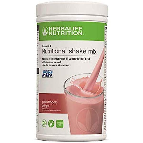 Herbalife batido formula 1 Delicias de fresa: Amazon.es ...