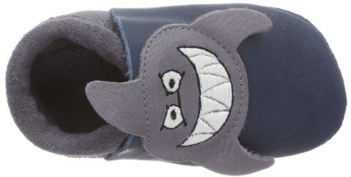 Pololo Sharky, chaussons d'intérieur garçon Bleu - Blau (tobago 708)