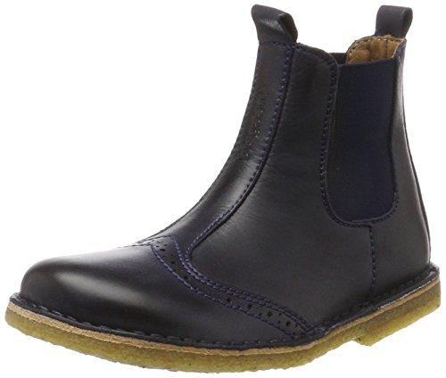 Blau Boots Mädchen (Bisgaard Unisex-Kinder Stiefelette Chelsea Boots, Blau (600 Blue), 37)