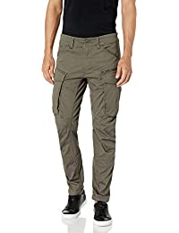 G-STAR RAW Rovic Zip 3D Tapered Pantalon, Gris (gs grey 5126-1260), 32W / 34L para Hombre