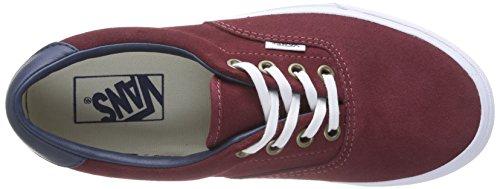 Vans ERA 59 Unisex-Erwachsene Sneakers Rot ((Suede/Leather) FMW)