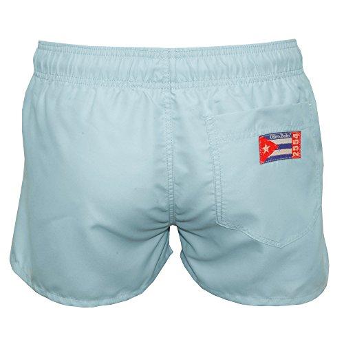 Oiler & Boiler Tuckernuck Shortie Männer Schwimmen Shorts, Soft Blau Blau