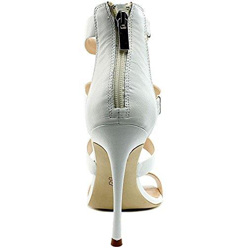 Charles David Olina Femmes Cuir Sandales white