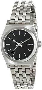 Nixon - A399000-00 - Montre Femme - Quartz - Analogique - Bracelet Acier inoxydable Argent