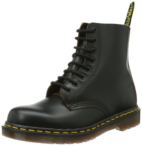 Dr. Martens 1460Z Vintage 8 Eye Boot BLACK, Unisex-Erwachsene Bootsschuhe, Schwarz (Black),...