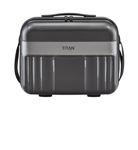 TITAN Spotlight Flash Beautycase 831702-04 Koffer, 21.0 Liter, Anthrazit
