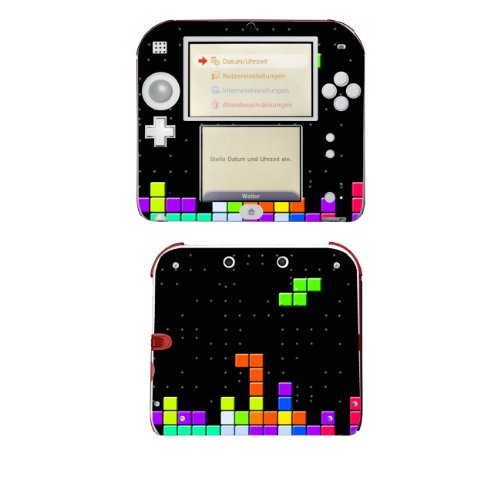 """Motivos Disagu Design Skin para Nintendo 2DS: """"Tetris No. 2"""""""