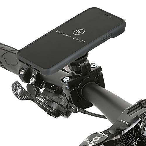 Wicked Chili QuickMOUNT Fahrrad Motorrad Halterung für iPhone XR (6,1