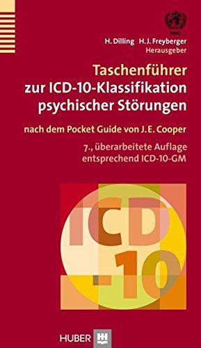 Taschenführer zur ICD–10–Klassifikation psychischer Störungen: nach dem Pocket Guide von J.E. Cooper