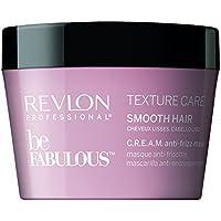 Revlon Professional Be Fabulous consistenza Care Maschera Anticrespo c.r.e.a.m per capelli lisci, 200ml