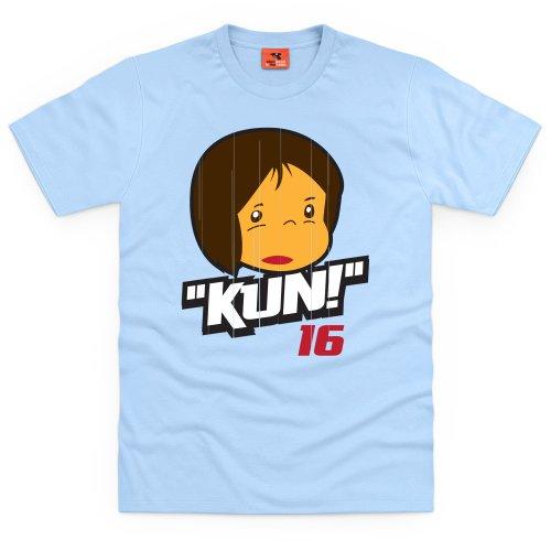 Aguero T-Shirt, Herren Himmelblau