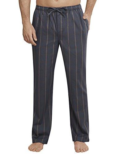 Schiesser Herren Schlafanzughose Mix & Relax Hose Lang, Grau (Anthrazit 203), XXX-Large (Herstellergröße: 058) (Braune Mädchen-schlafanzug)
