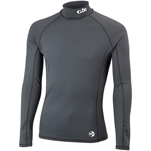 Gill UV Rash Vest maniche lunghe Black